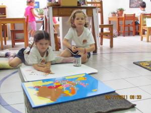 Colegio Montessori tierra de Niños Cuernavaca un día de clases normal