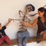 Nico y Re, como le dice, juegan y se divierten mucho!