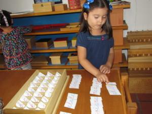 colegio Montessori el primer día