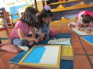 Tablero del 100 Material Montessori