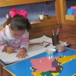 América del sur con nombres tierra de niños montessori school
