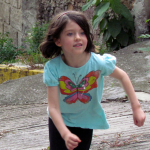 Olivia corriendo