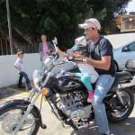 Ahora, a pasear en moto!