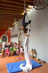 Daniel Herrera, el mejor maestro de circo.