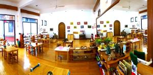 El nuevo salón de Tierra de niños Montessori school